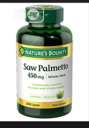 Herb Saw Palmetto Capsules, 450 Mg For Prostrate Health Treatment | Vitamins & Supplements for sale in Abuja (FCT) State, Wuse 2