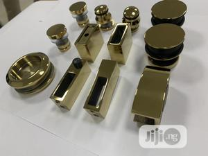 Gold Shower Sliding Accessories | Building Materials for sale in Lagos State, Agege