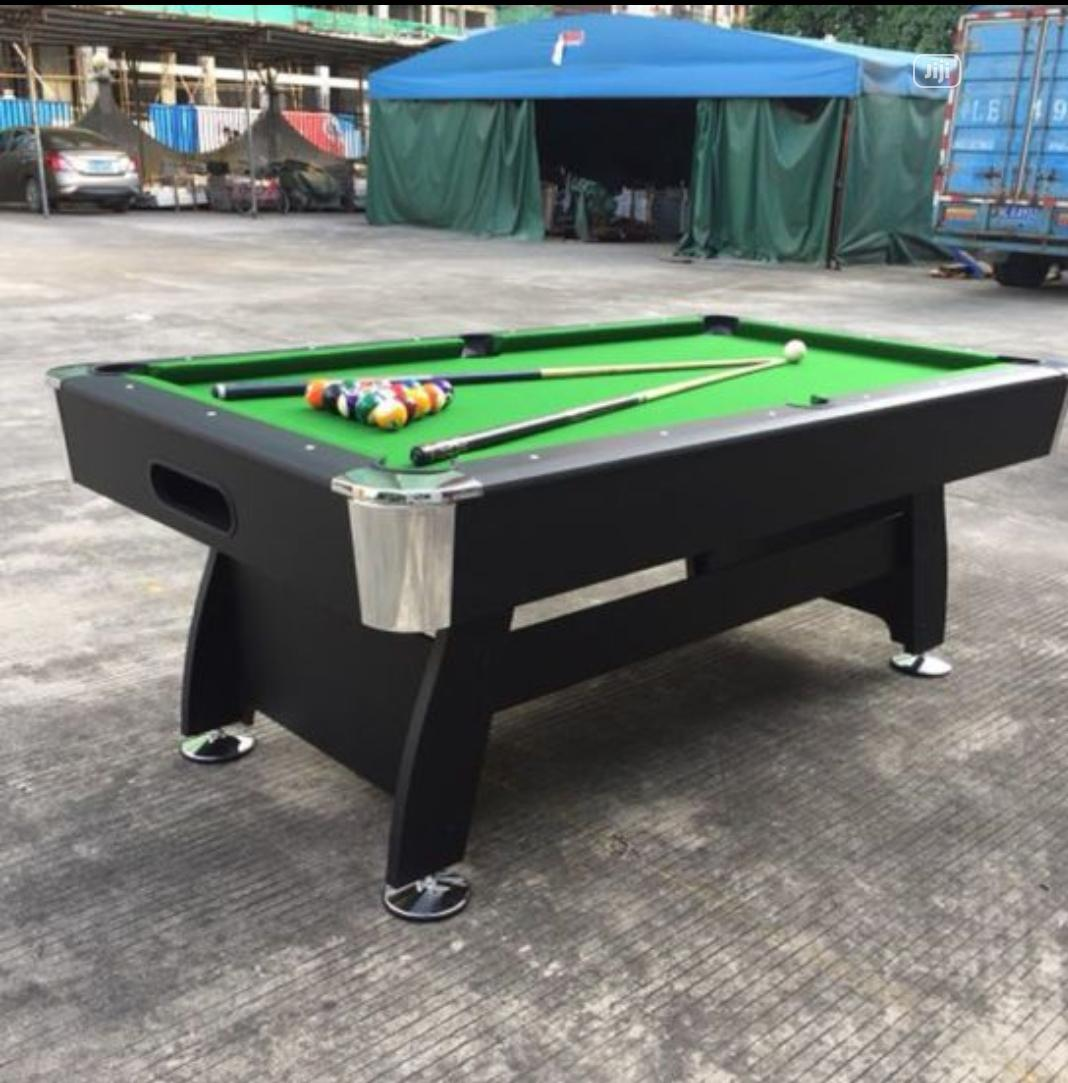 Archive: 7feet Snooker Board With Complete Accessories