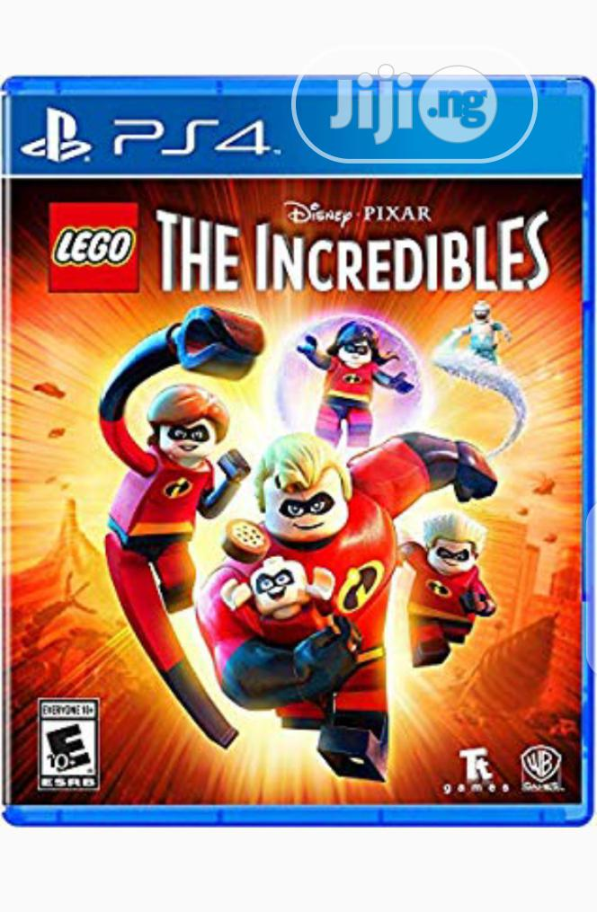 PS4 Lego the Incredible