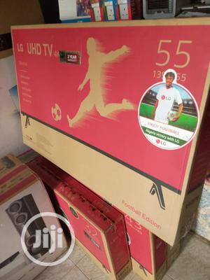 55 Inches LG LED Uhd Smart TV | TV & DVD Equipment for sale in Lagos State, Ojo