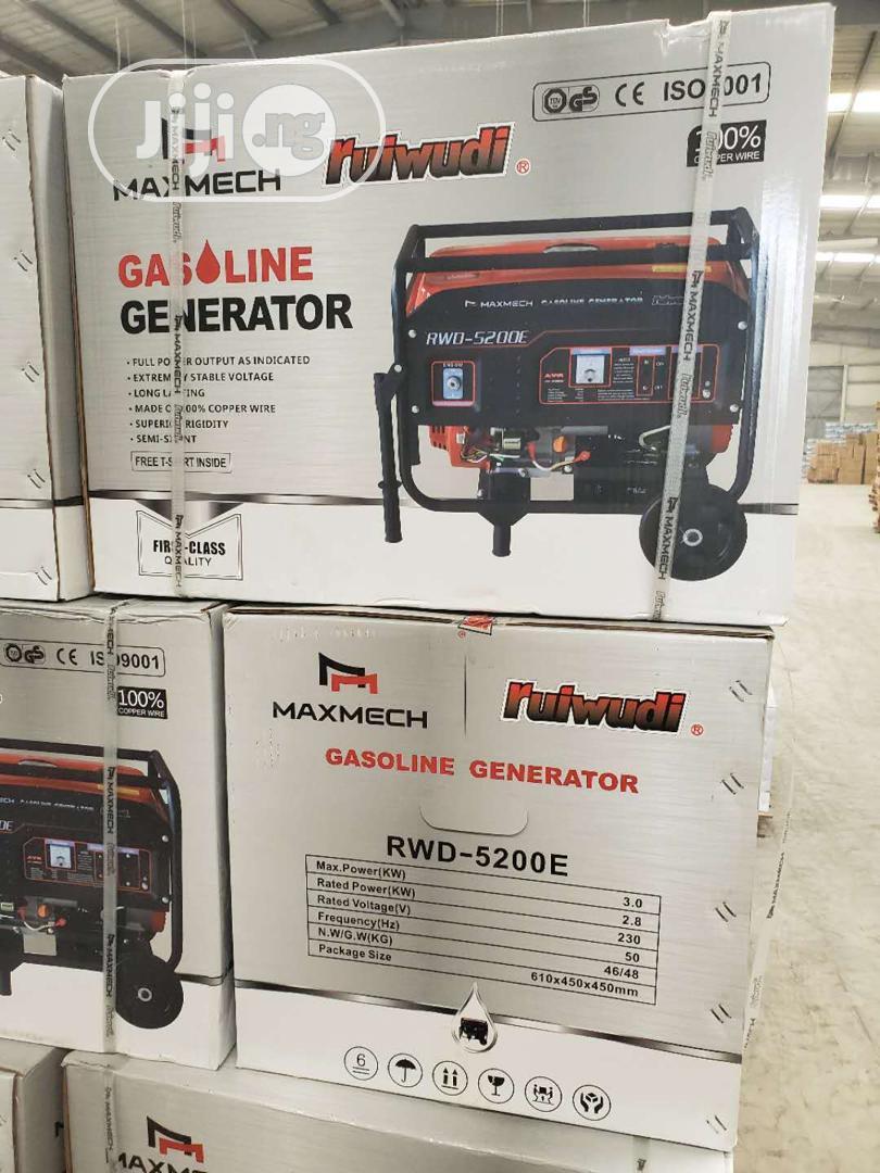 Maxmech Generator 3.2kva