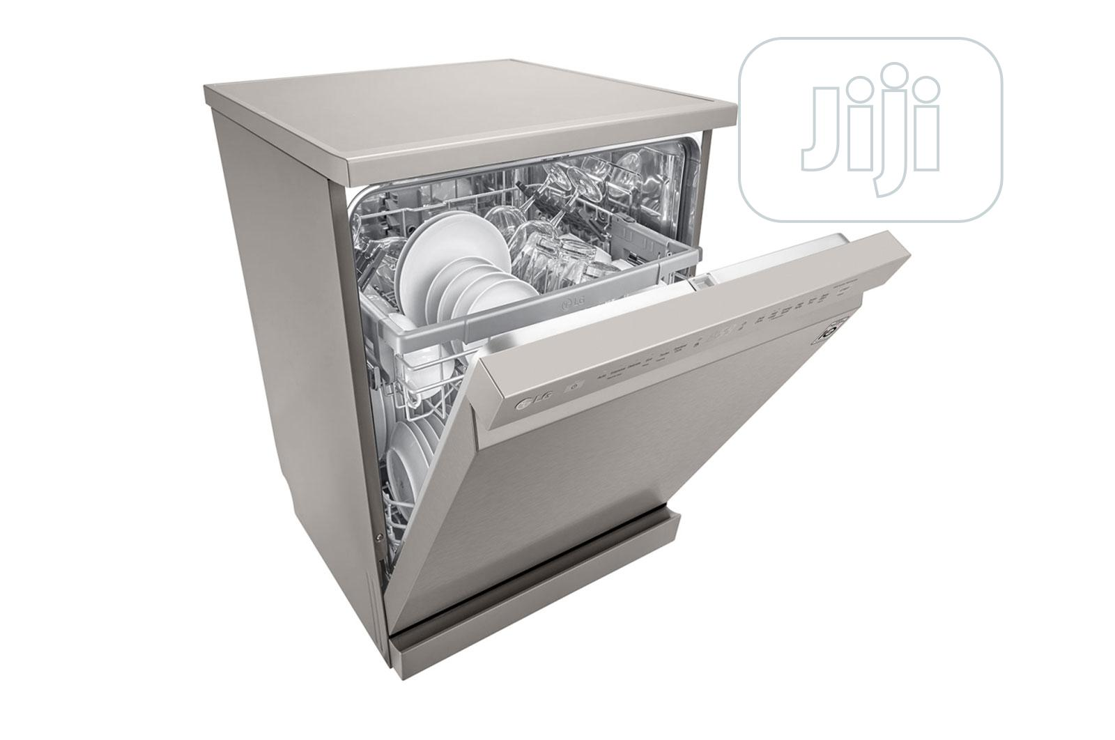 LG Dish Washer Dw 512dfb (Silver) | Kitchen Appliances for sale in Central Business Dis, Abuja (FCT) State, Nigeria