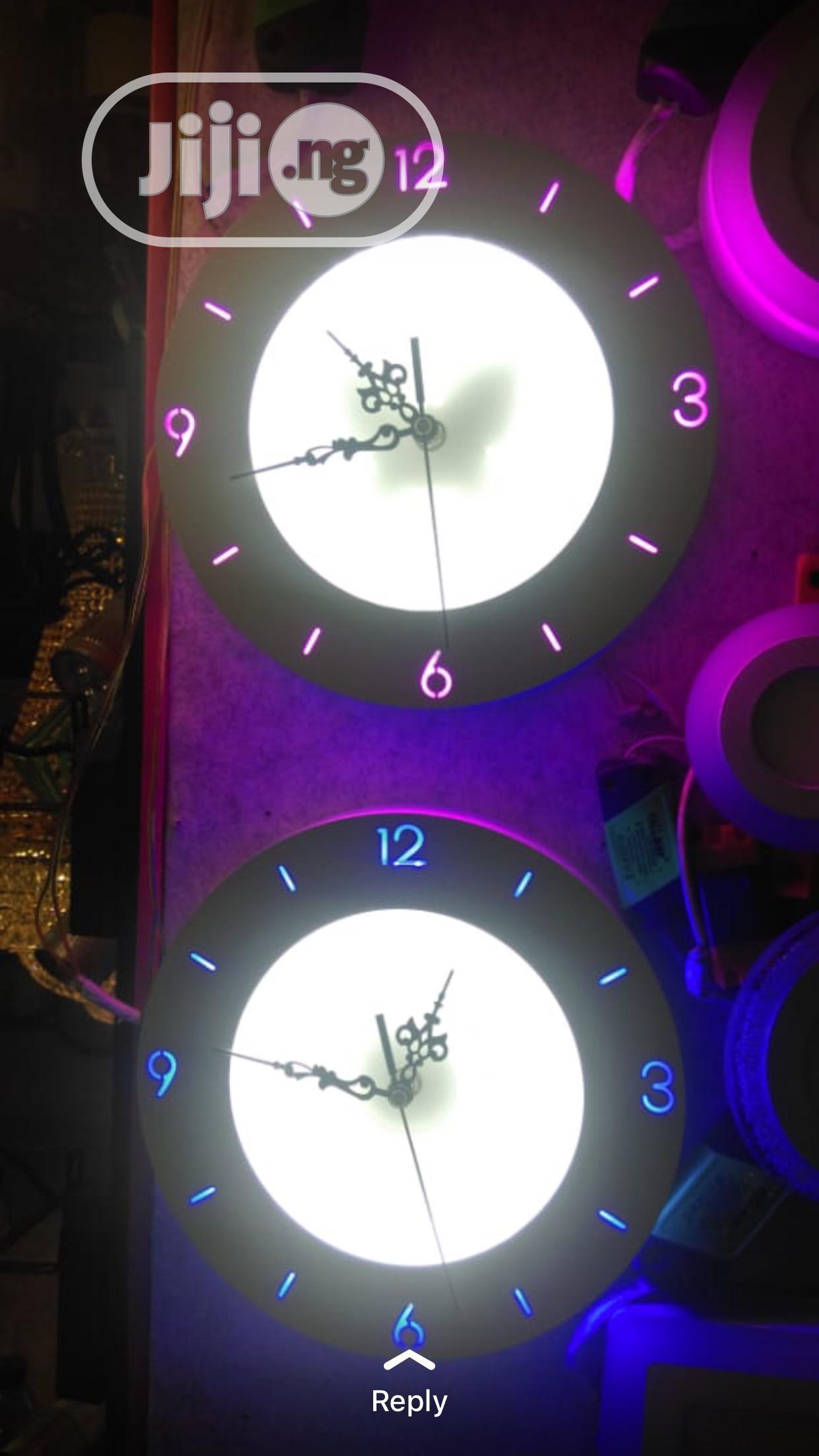 Led Clock Light