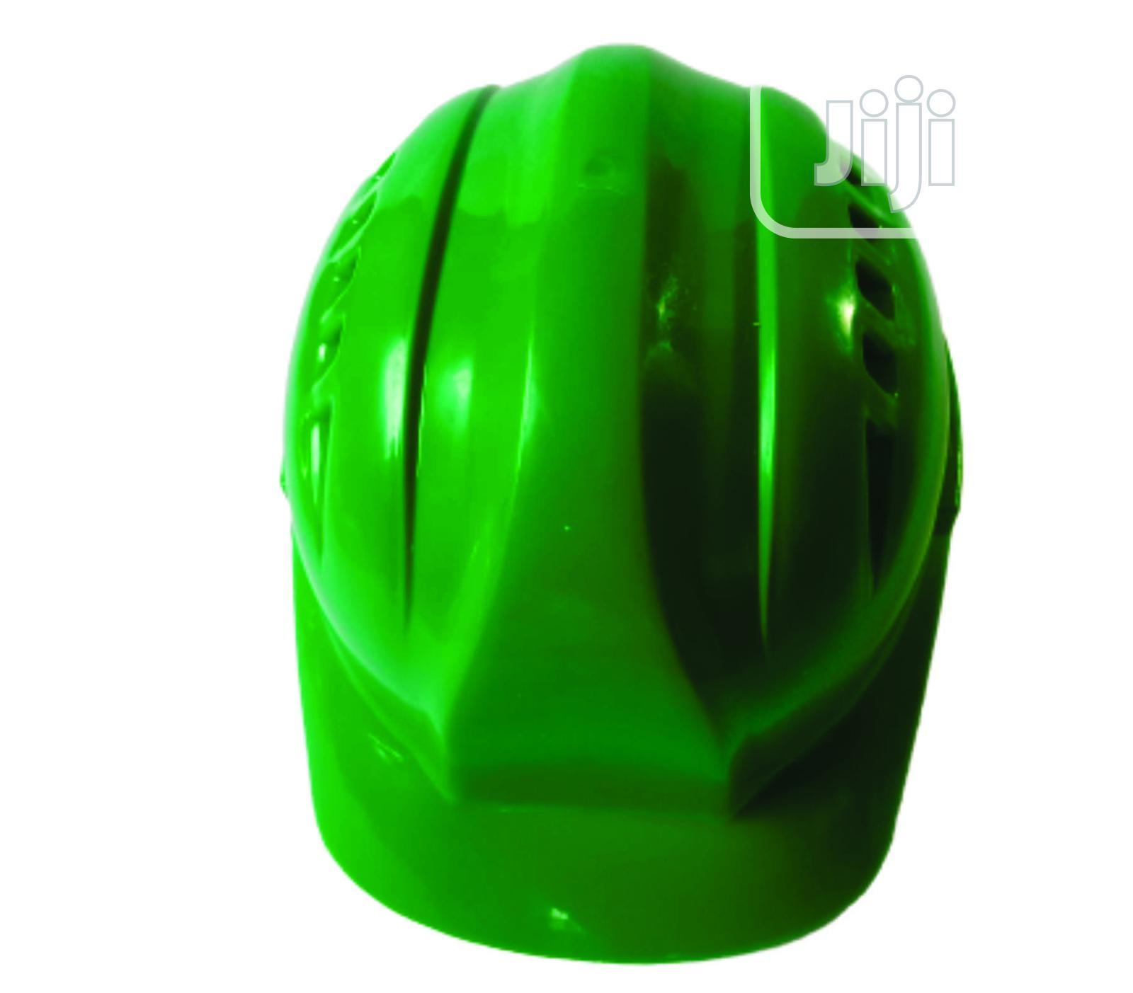 Archive: Vaultex Green Safety Helmet With Vent & Pinlock Suspension