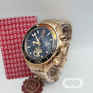 Omega (SEAMASTER) Automatic Chronograph Rose Gold Watch | Watches for sale in Lagos State, Lagos Island (Eko)