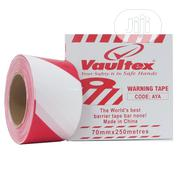 Vaultex Warning / Caution Tape Red & White 70mm X 250 Metres | Safety Equipment for sale in Lagos State, Amuwo-Odofin