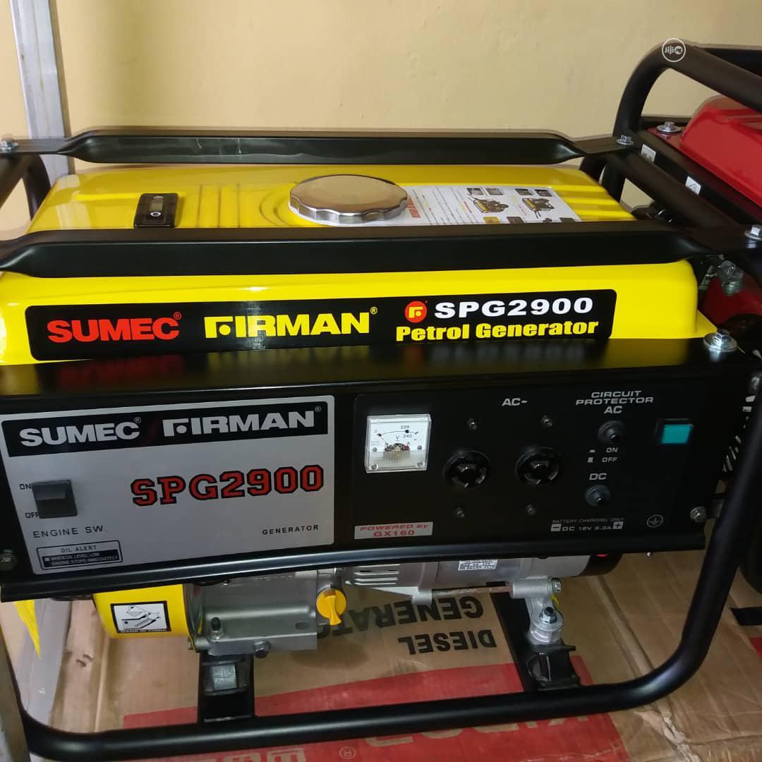 Quality Guaranteed SPG2900 SUMEC FIRMAN Petrol Generator