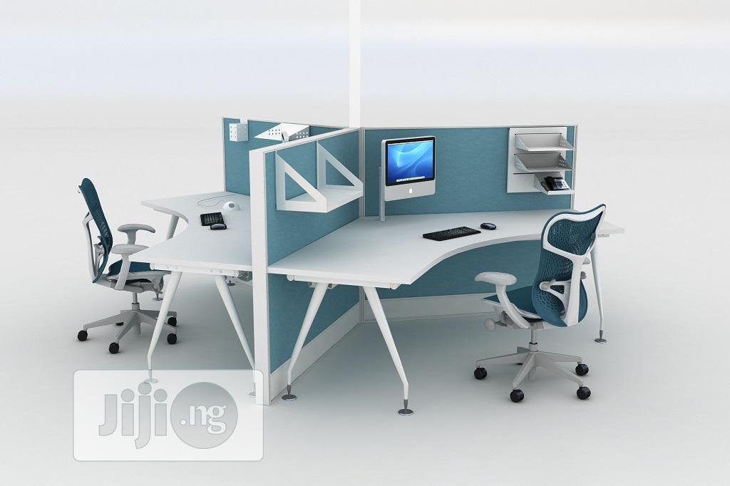 Archive Quality 3in1 Workstation For Office Use In Oshodi Furniture Aycon Global Furnitures Jiji Ng