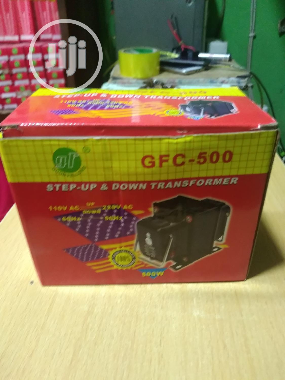 500w Step Up&Down Transforma