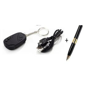 Spy Car Key Chain Holder + Spy Dvr Camera Pen - Bundle   Security & Surveillance for sale in Lagos State, Surulere