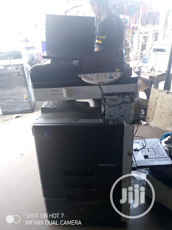 Konica Minolta Bizhub C253: Coloured Multifunctional Copier.   Printers & Scanners for sale in Surulere, Lagos State, Nigeria