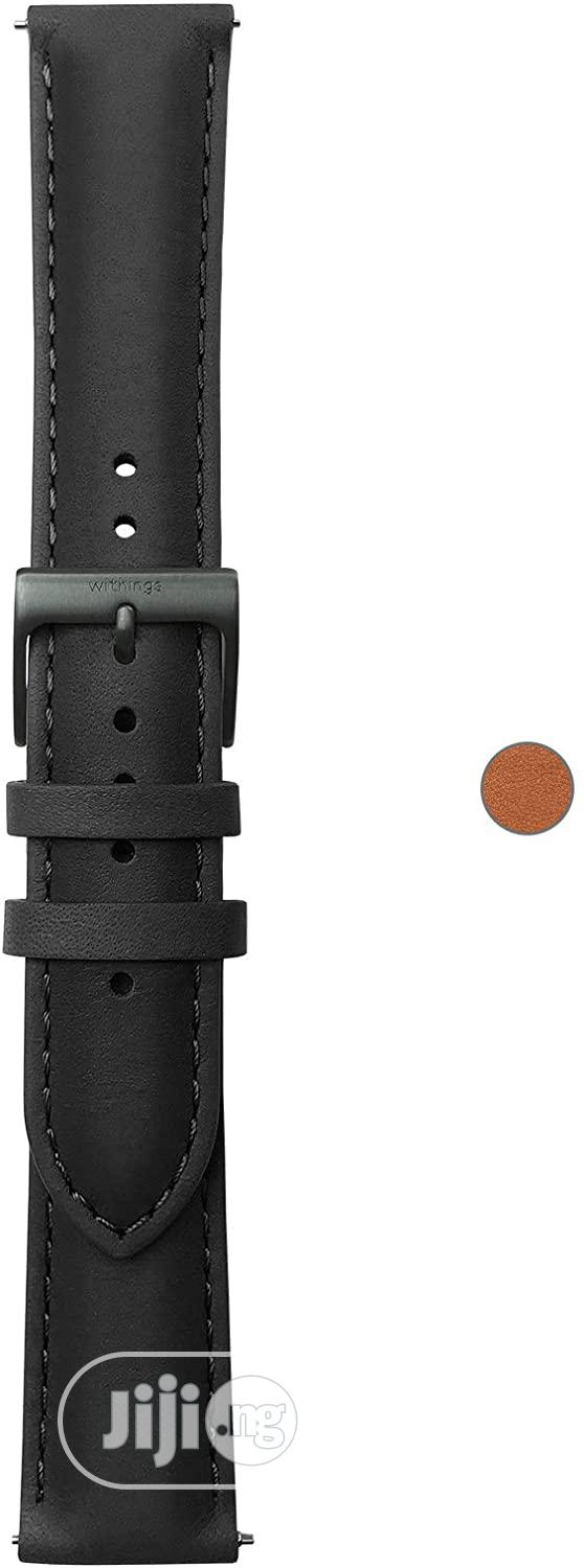 Withings Leather Wristbands For Steel HR, Steel HR Sport Smartwatch