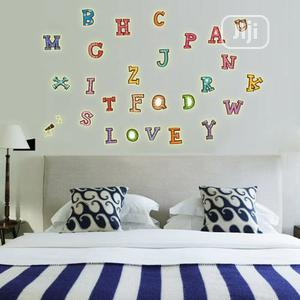 Colored English Alphabet Fluorescent Luminous Decorative Wall Stickers | Home Accessories for sale in Lagos State, Surulere