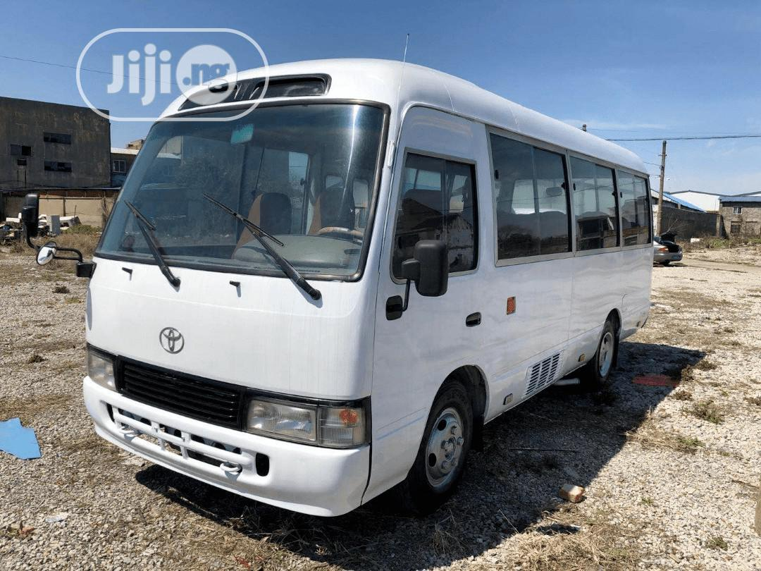 Foreign Used 30 Seater Toyota Coaster Bus 2016 Model