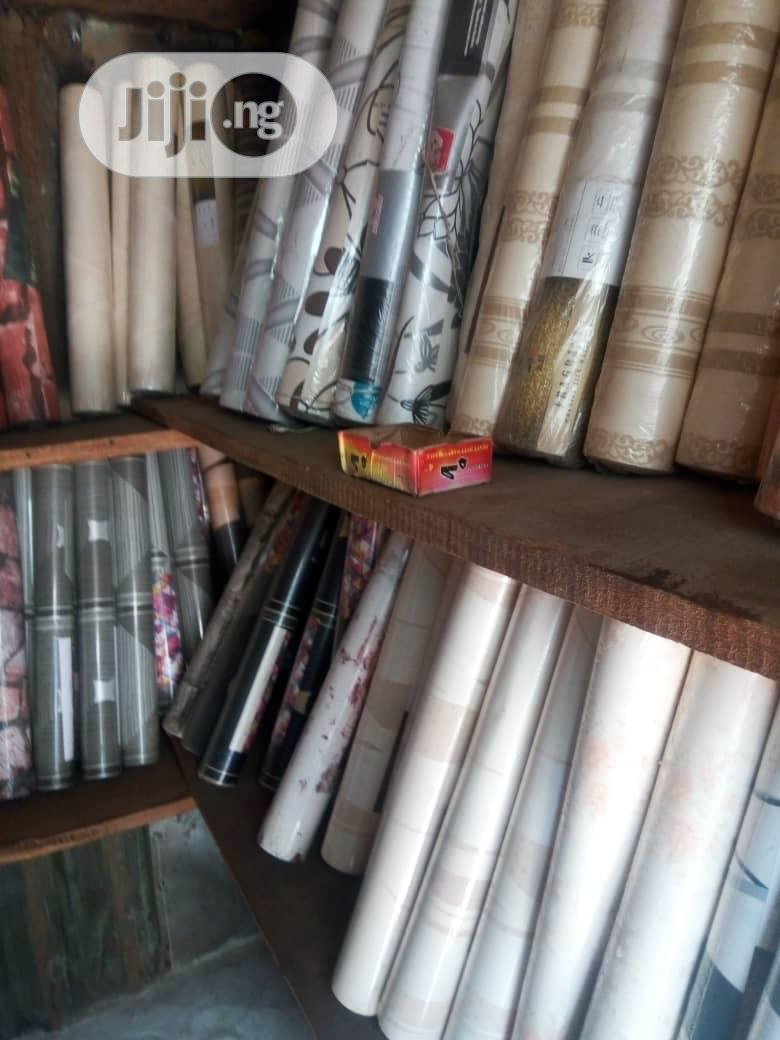 Archive: Wallpaper And Window Blind