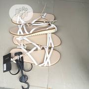 White Lovely Sandals Easy On | Shoes for sale in Lagos State, Lekki Phase 2