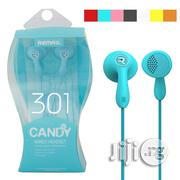 Remax RM 301 Candy Wired Earphone | Headphones for sale in Lagos State, Ikeja
