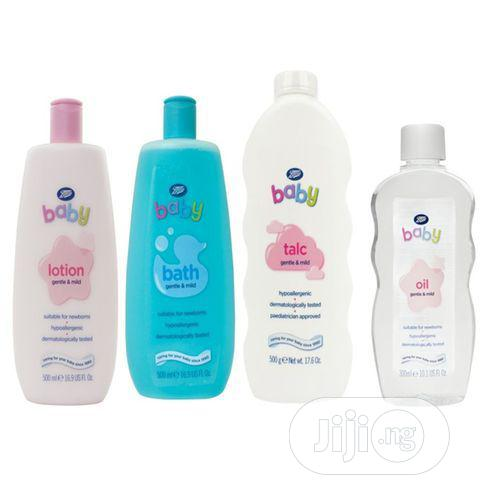 Boots Baby Essentials 4 In 1 Set(Lotion, Wash, Oil, Powder)
