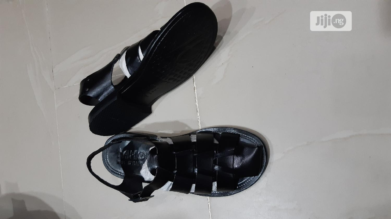 Quality Balphom Men's Italian Pure Leather Sandals | Shoes for sale in Lagos Island (Eko), Lagos State, Nigeria
