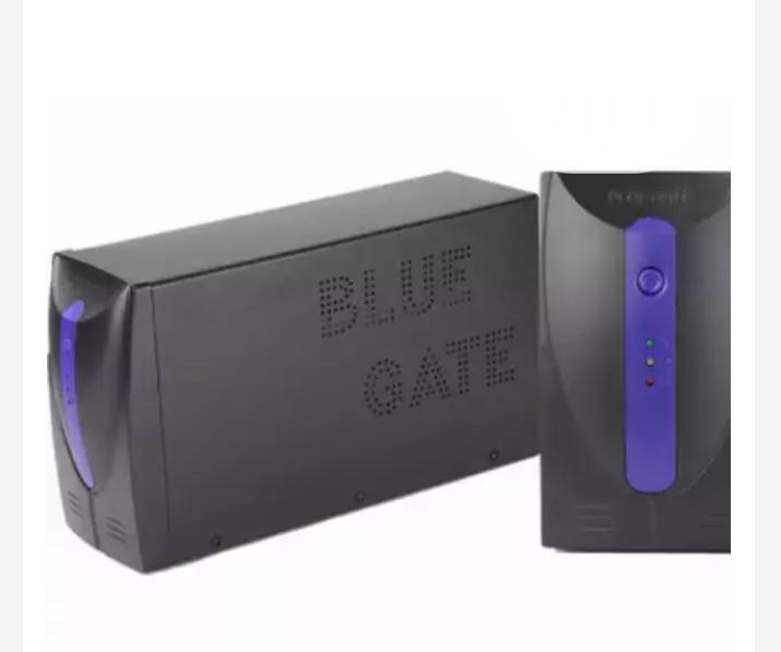 Blue Gate UPS – 653va- Black (Plastic)