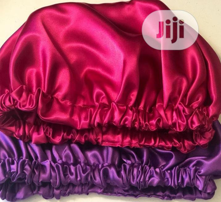 Qdscouture Reversible Satin Bonnet Deritch Hair Growth Oil | Hair Beauty for sale in Akure, Ondo State, Nigeria