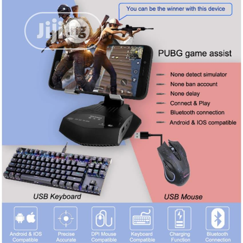 Bluetooth 4.2 Mobile Controller Keyboard Mouse Converter Gamepad | Accessories & Supplies for Electronics for sale in Surulere, Lagos State, Nigeria