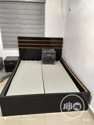 Bedframe 41/2 By 6ft With 2side Drawers   Furniture for sale in Lagos State, Oshodi