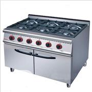 Industrial Standing 6 Burners Gas Burners With Oven | Restaurant & Catering Equipment for sale in Abuja (FCT) State, Utako