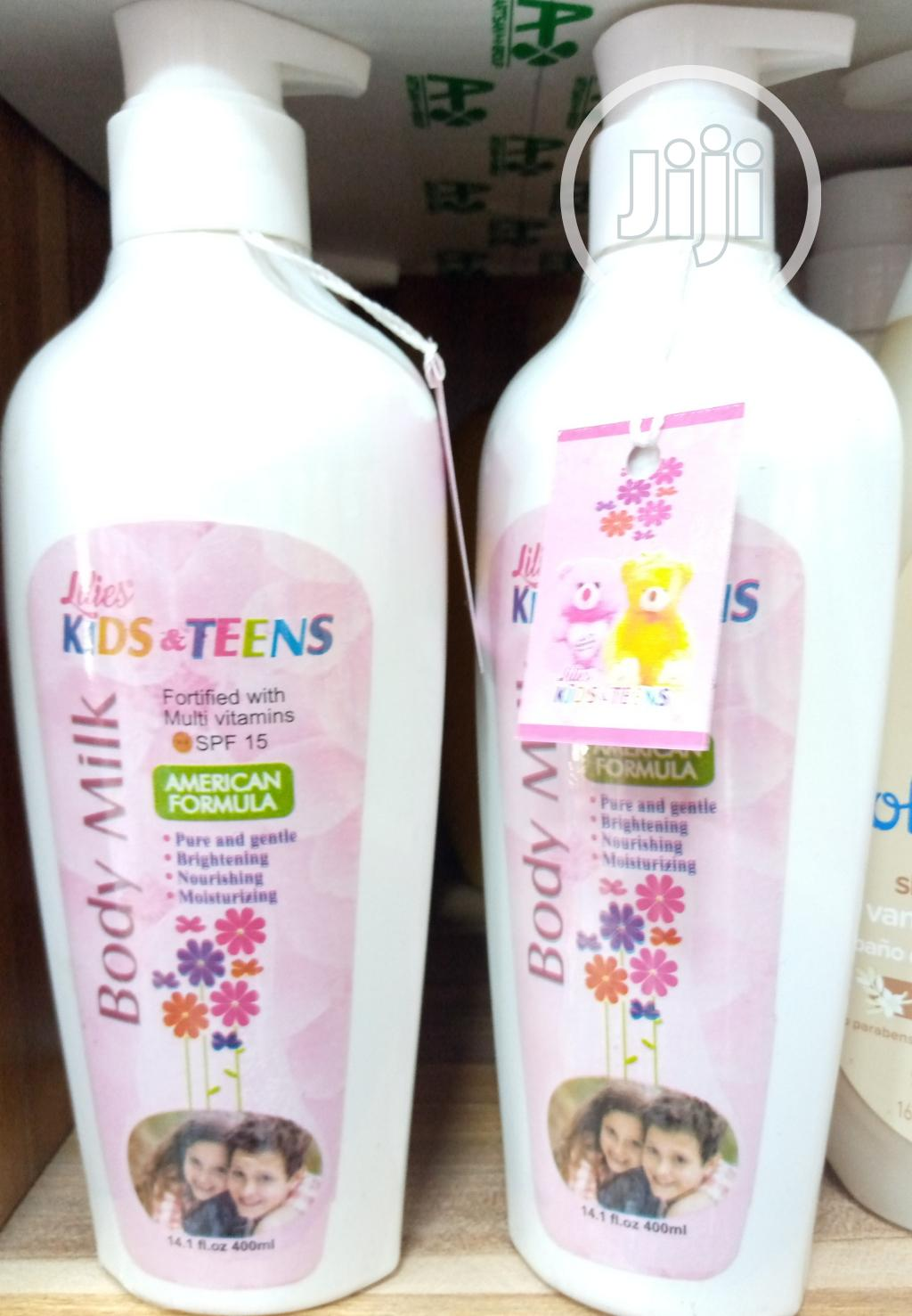 Lilies Kids And Teens Body Wash And Lotion (Made In Usa) | Baby & Child Care for sale in Ojo, Lagos State, Nigeria