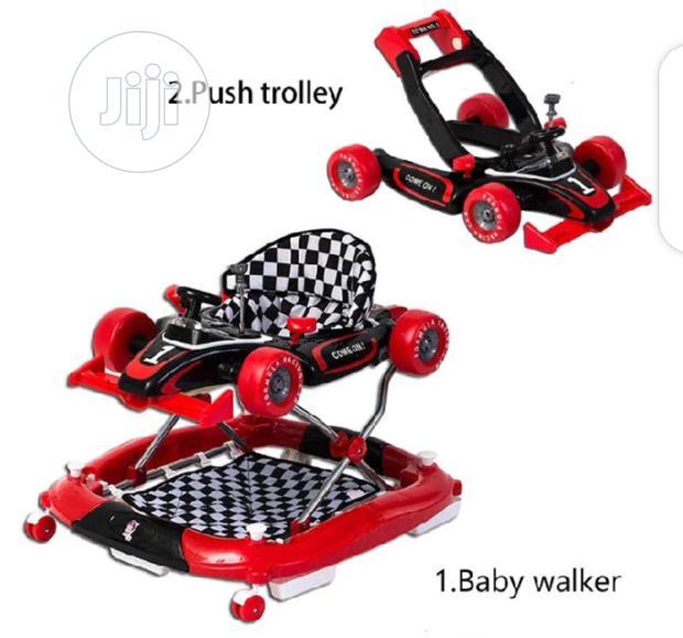 Baby Activity Walker Red