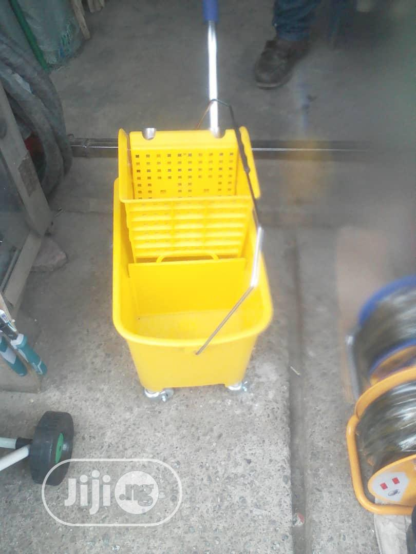 Industrial Mop Bucket With Wheels | Home Accessories for sale in Utako, Abuja (FCT) State, Nigeria
