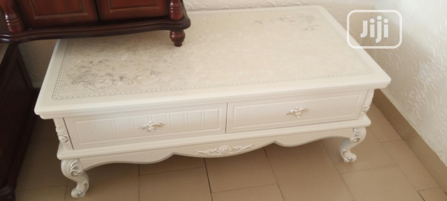 Luxury Royal Glass Top Centre Table