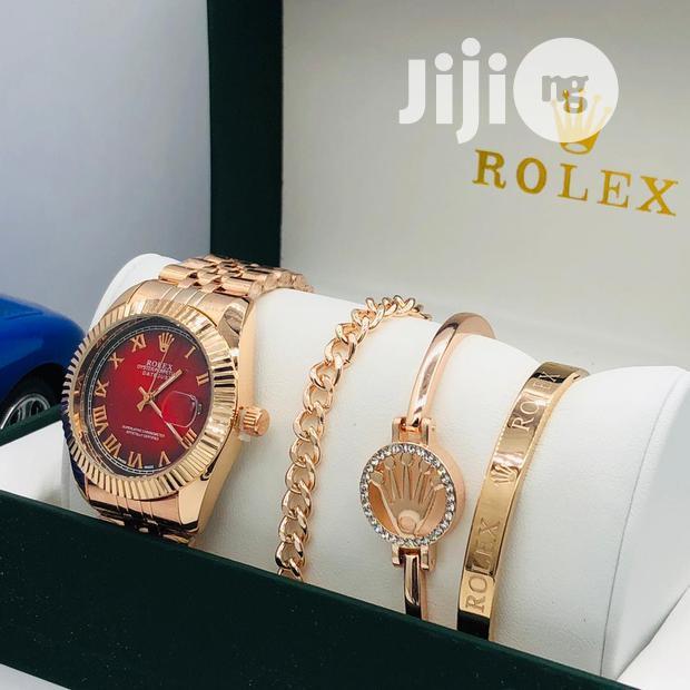 Rolex Watch And Bracelets