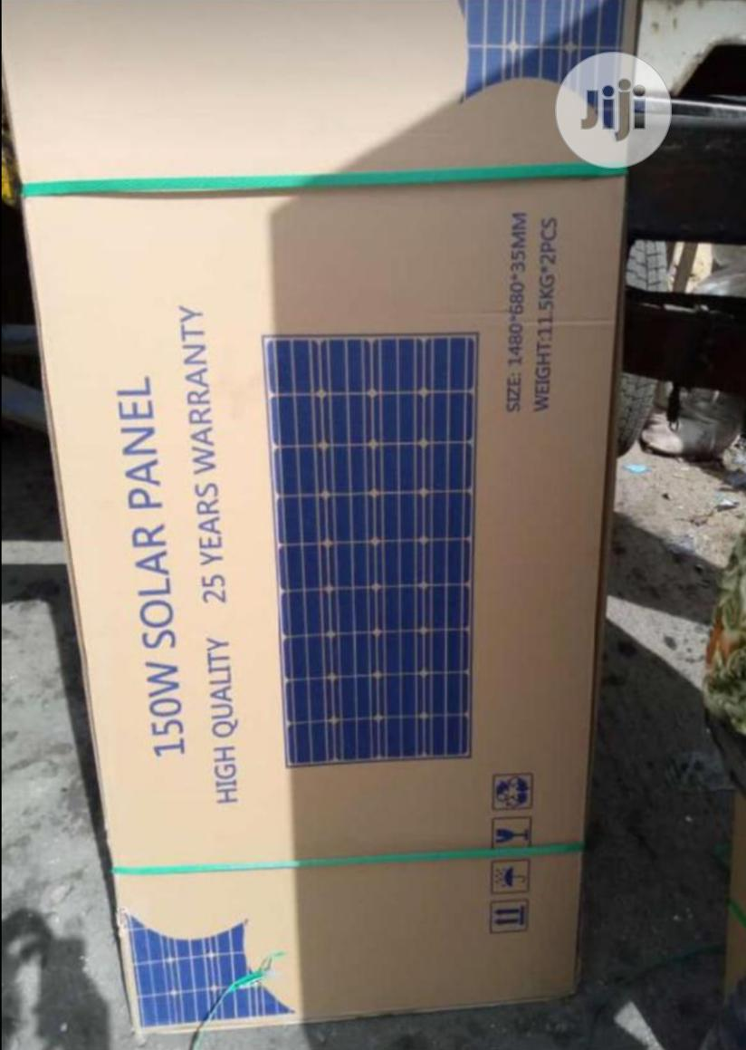 Archive: 150watts Solar Panel Mono