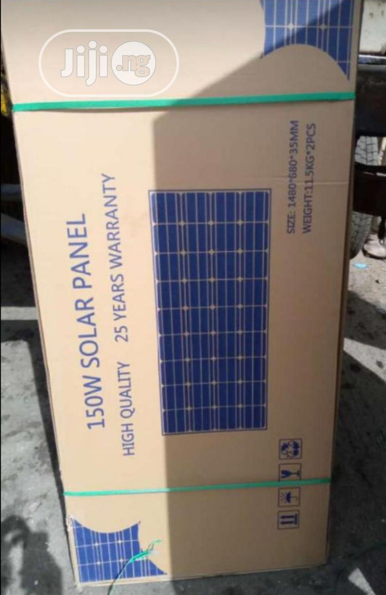 150watts Solar Panel