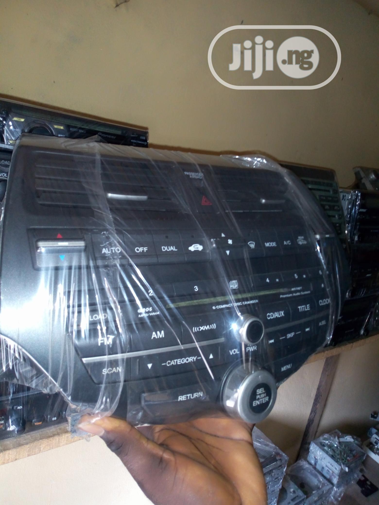 Honda Accord Complete Radio Set (Evil Spirit And Crosstour)