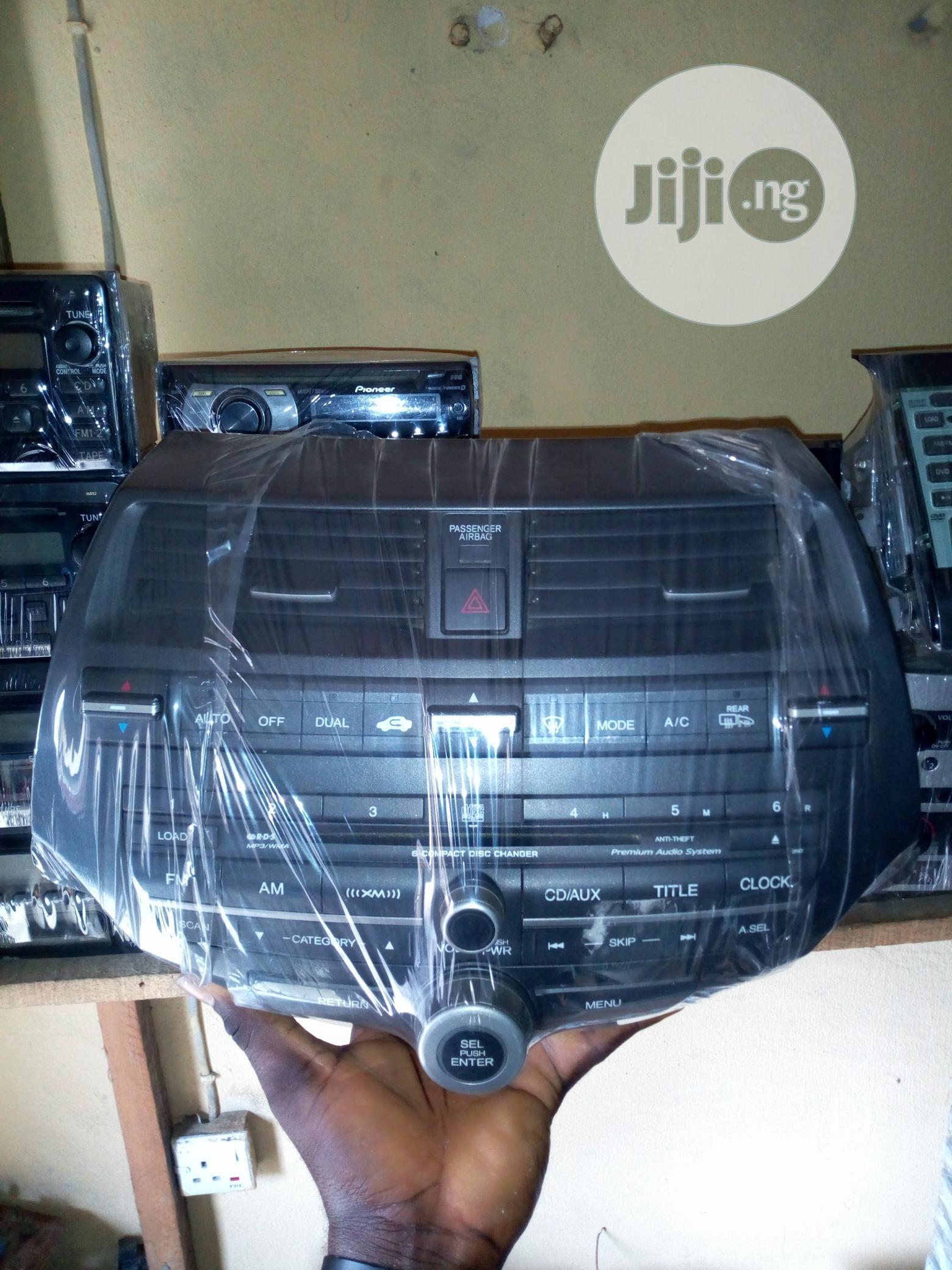 Honda Accord Complete Radio Set (Evil Spirit And Crosstour) | Vehicle Parts & Accessories for sale in Port-Harcourt, Rivers State, Nigeria