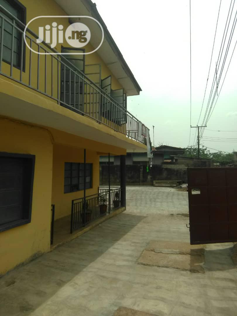 Executive Solid Block Of 4flat On Full Plot And Half C Of O | Houses & Apartments For Sale for sale in Oshodi, Lagos State, Nigeria