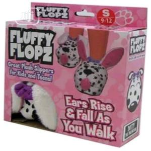 As Seen On TV Fluffy Flops Slippers - Pink | Children's Shoes for sale in Lagos State, Amuwo-Odofin