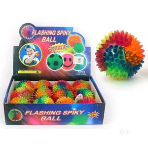 12pcs Flashing Spiky Ball For Party Pack | Toys for sale in Lagos State, Amuwo-Odofin