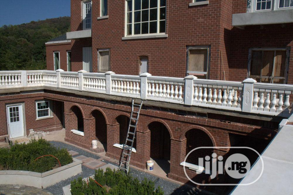 Archive: Classic Style Concrete Balustrades Set (Grey)