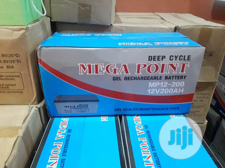 Mega Point 200ah Battery