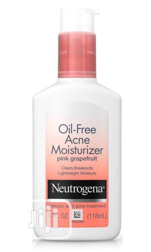 Neutrogena Pink Grapefruit Moisturizer With Salicylic Acid | Skin Care for sale in Ikeja, Lagos State, Nigeria