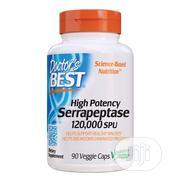Doctor'S Best Serrapeptase 120,000 SPU - 90 Caps   Vitamins & Supplements for sale in Lagos State, Ikeja