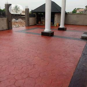 Fabulous Stamped Concrete Floor   Building & Trades Services for sale in Lagos State, Ajah
