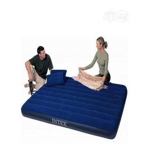 Intex Inflatable Airbeds With High Output Hand Pump And Pillow | Furniture for sale in Lagos State, Victoria Island