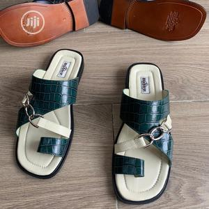 Original Leather Copper Slippers Palm Available   Shoes for sale in Lagos State, Surulere