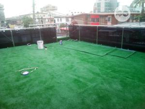 Beautiful 30 Mm Artificial Grass Cover Squash Ball Courtside | Landscaping & Gardening Services for sale in Lagos State, Ikeja