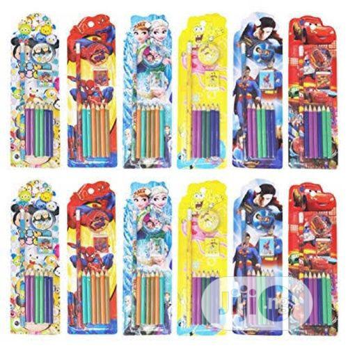 12pcs Stationary Set With Pencil Crayon